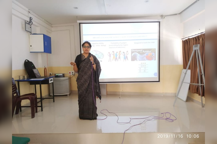 Pallavi Model School-Conducting Workshop