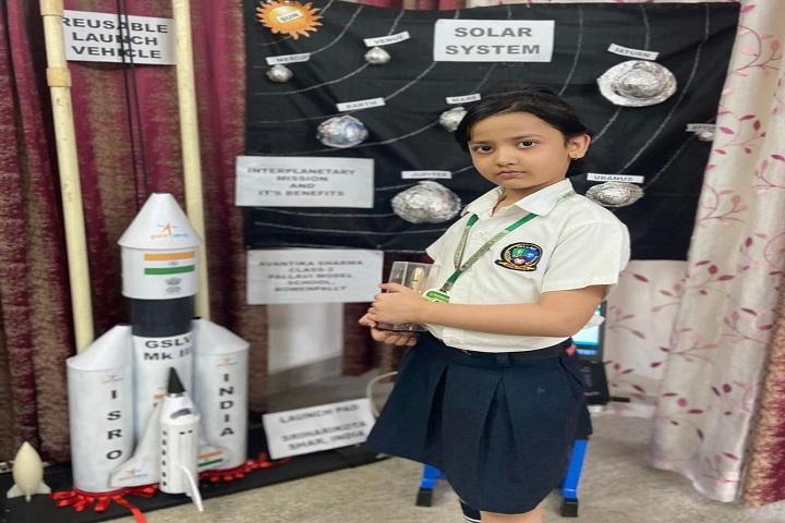 Pallavi Model School-Science Exhibition