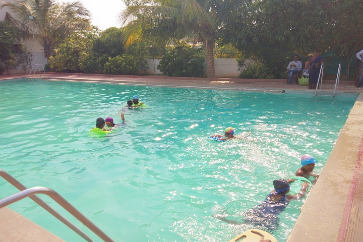 Pallavi Model School-Swimming Pool