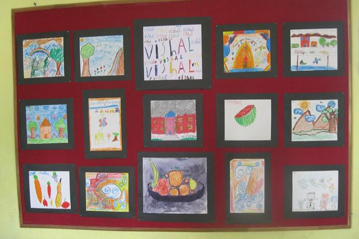 Pebble Creek Life School-Drawing Board