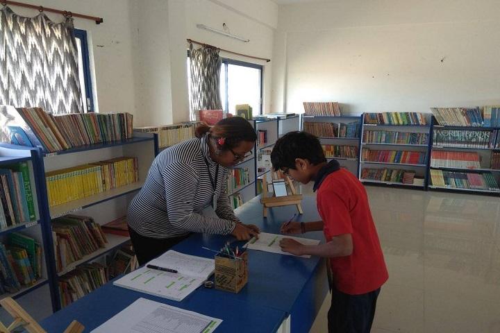 Pebble Creek Life School-Library