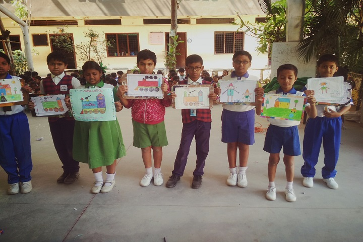 Rainbow Public School-Painting Competition
