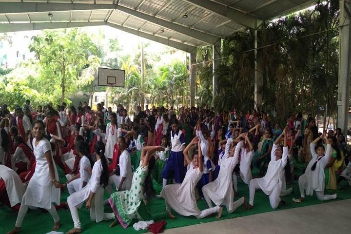 Rainbow Public School-Yoga Day