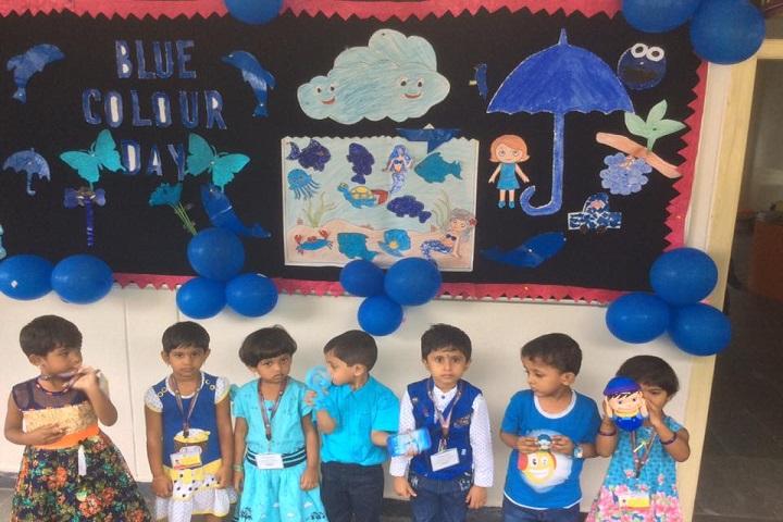 Rotterdam School-Blue day celebrations