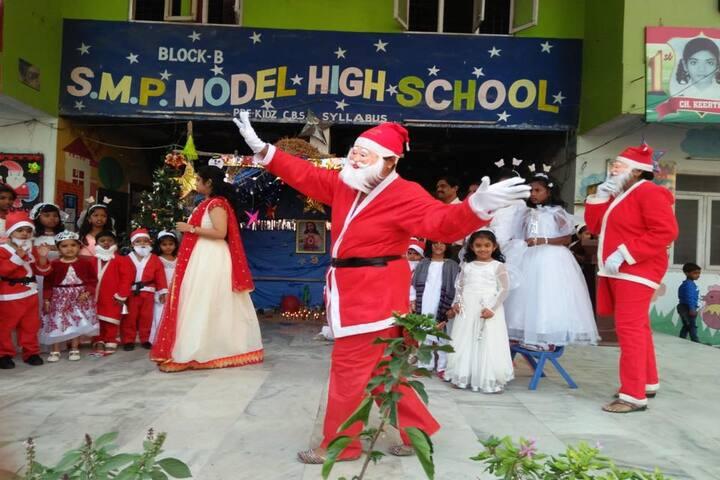 S M P Model High School-Christmas Celebration