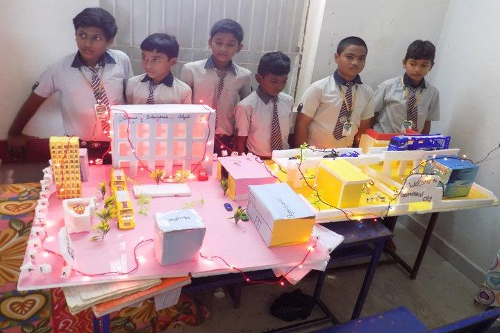 Saanvi International School-Science Exhibition