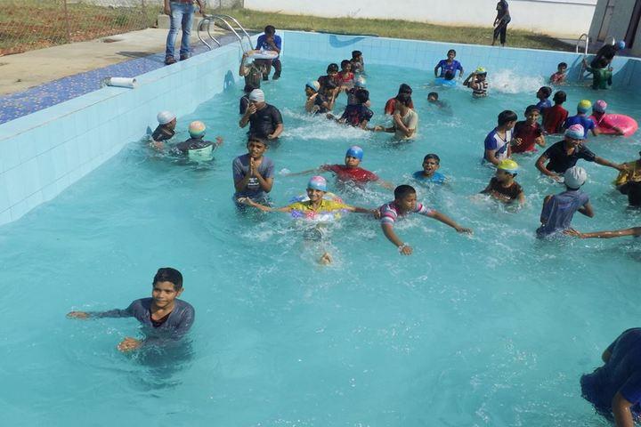 Saanvi International School-Swimming Pool