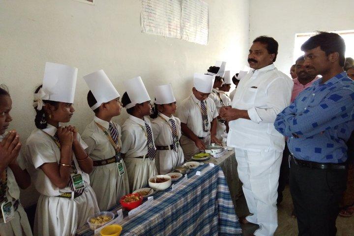 Saanvi International School-cooking Activity