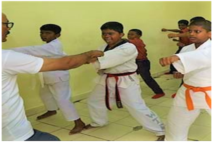 Sadashiva High School-Karate