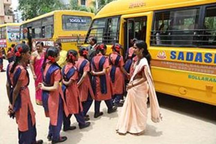 Sadashiva High School-School Transport