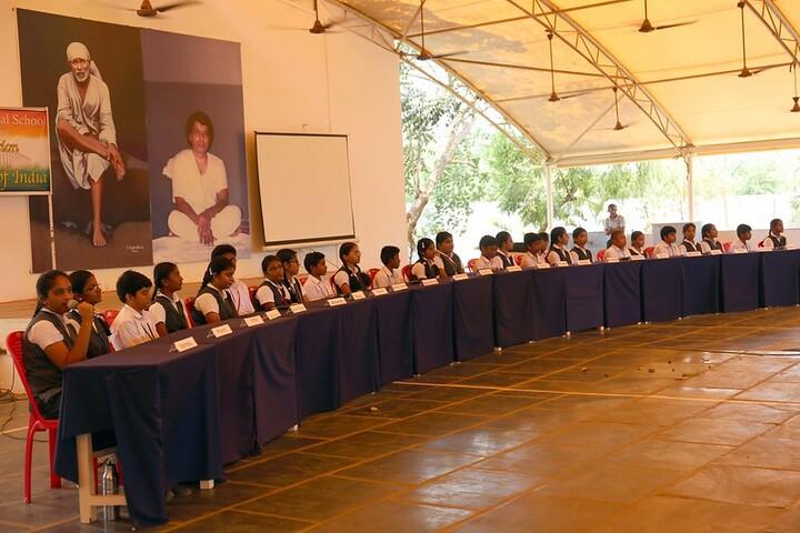 Sai Baba Central School-Debate