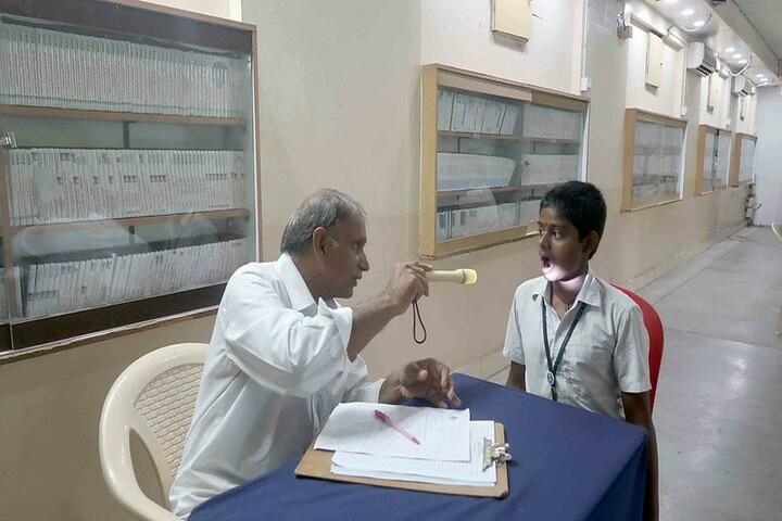 Sai Baba Central School-Medical Checkup