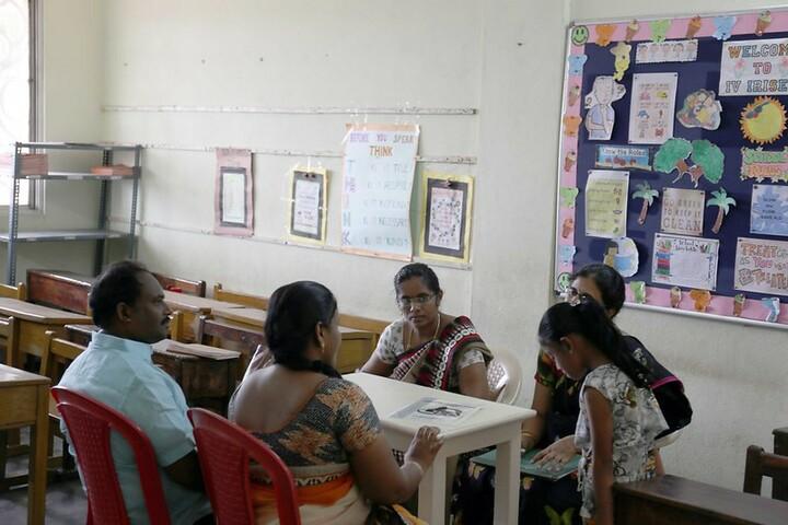 Sai Baba Central School-Parents Meeting