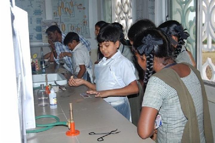 Sai Baba Central School-Chemistry Lab