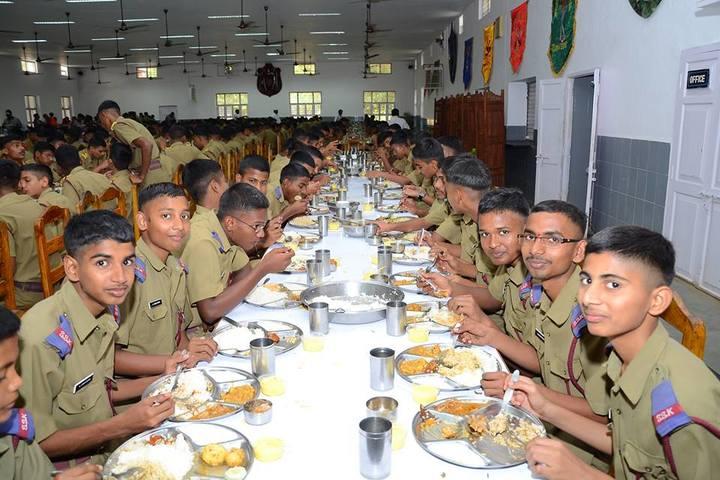 Sainik School-Dinning Hall
