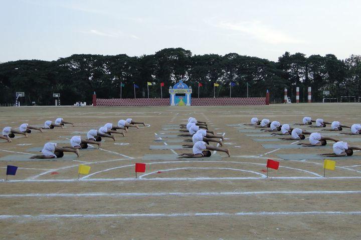 Sainik School-Yoga