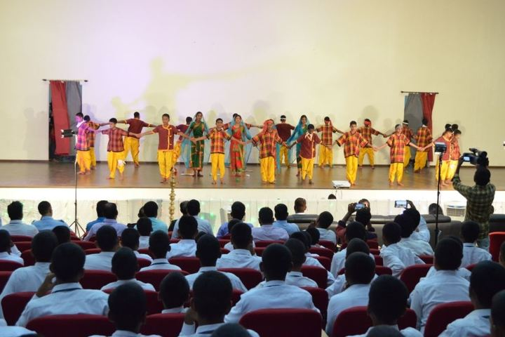 Sainik School Kalikiri-Dance