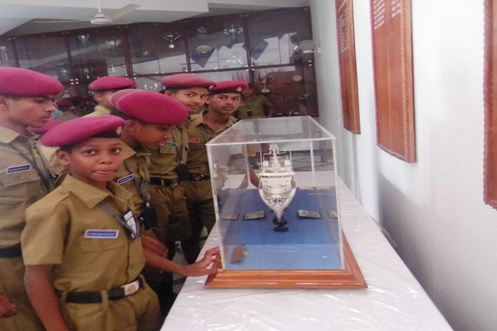 Sainik School Kalikiri-Experiment