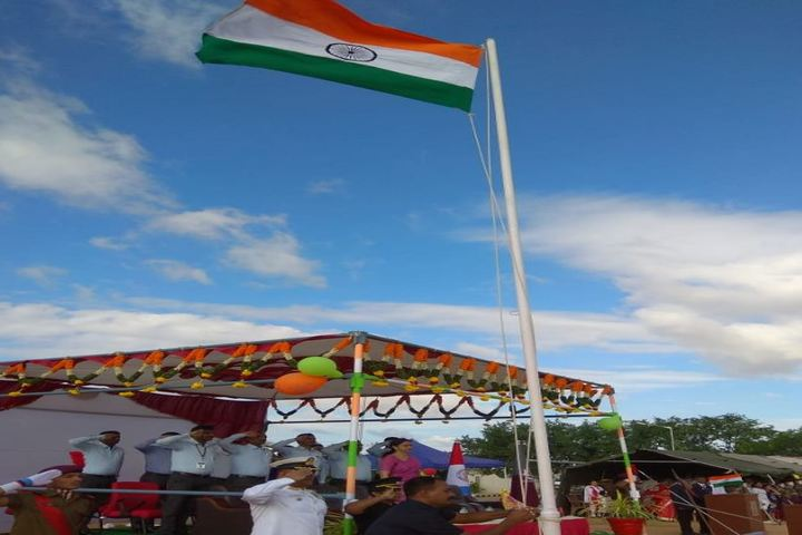 Sainik School Kalikiri-Flag Host