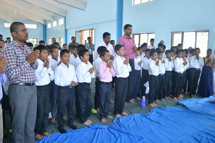 Sainik School Kalikiri-Prayer