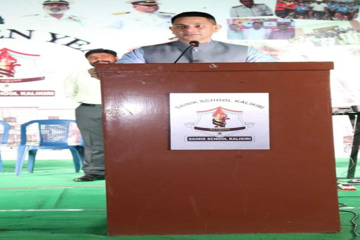 Sainik School Kalikiri-Speech