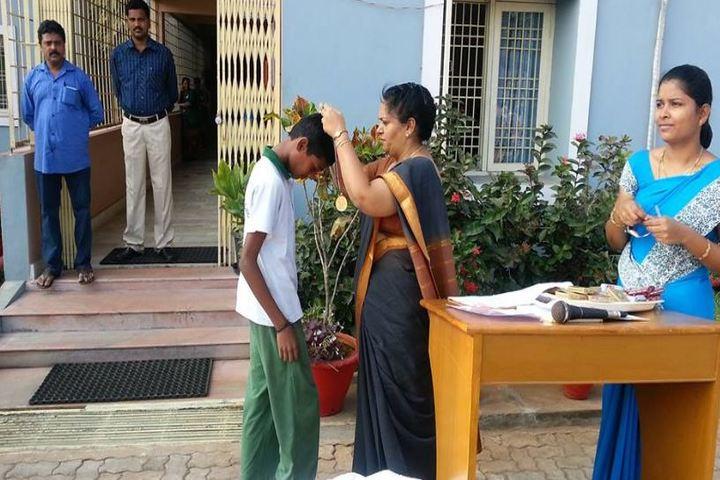 Sanskruti Global School-Medal Distribution
