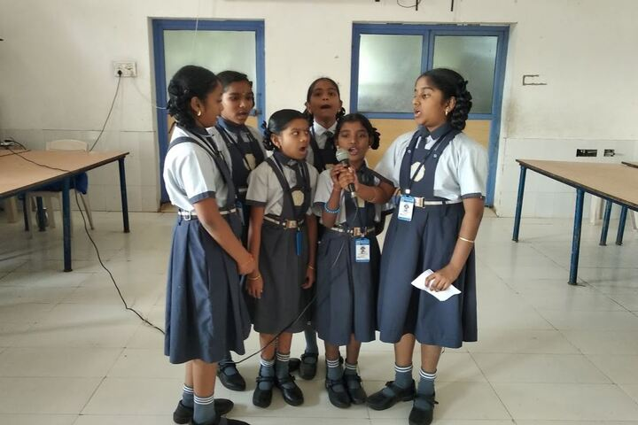 Saranya Concept School-Singing