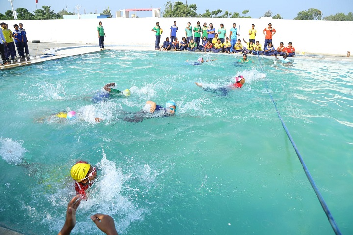 SDR World School-Swimming Pool