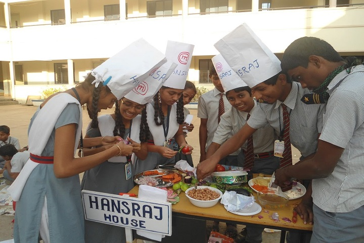 Seetha Mahalakshmi Dav Public School-Cooking competition