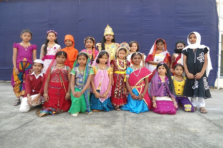Seetha Mahalakshmi Dav Public School-Fancy dress Competition