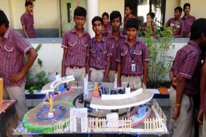 Seetha Mahalakshmi Dav Public School-Science Exhibition