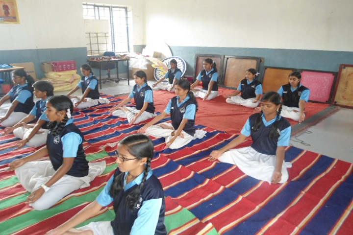 Seetha Mahalakshmi Dav Public School-Yoga