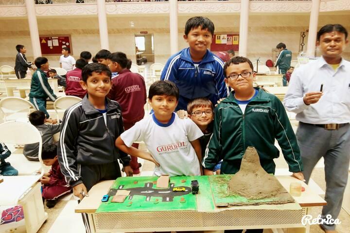 Shree Swaminarayan Gurukul International School-Science Exhibition