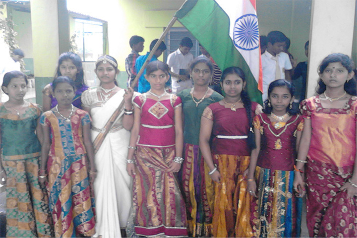 Silver Bells Central School-Independence Day Celebrations