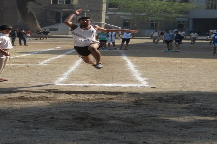 St Vincents High School-Long Jump Event