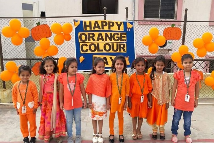 Slate The School-Orange Day Celebration