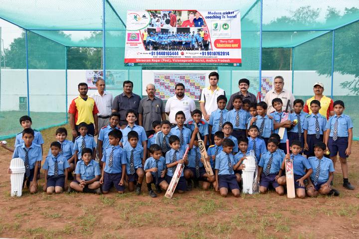 Smt Godavari Devi Saraf High School-Cricket Team