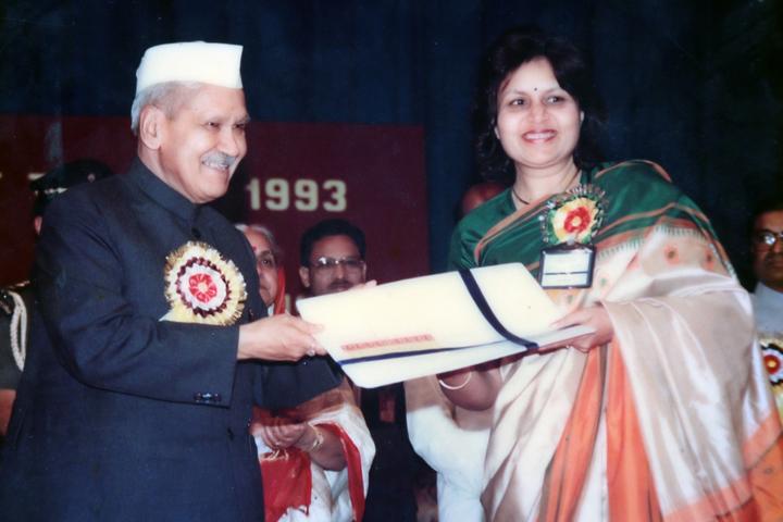 Smt Godavari Devi Saraf High School-Felicitation