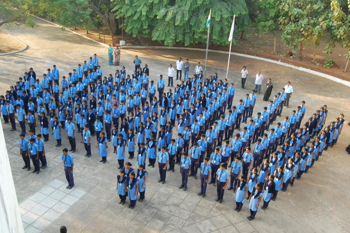 Smt Godavari Devi Saraf High School-Morning Assembly