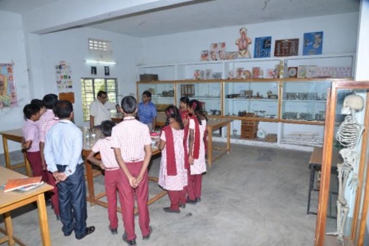 Annapurna High School-Biology Lab