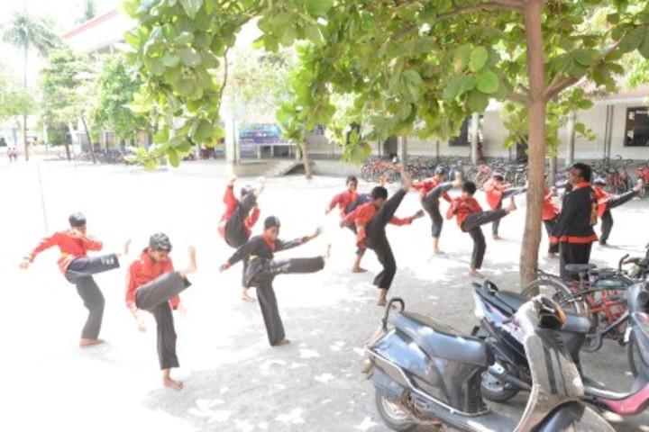 Annapurna High School-Karate