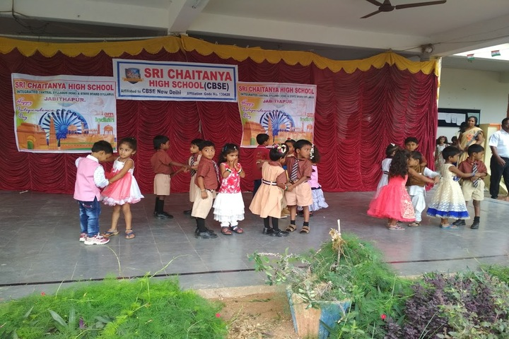 Sri Chaitanya High School-Dancing Activity