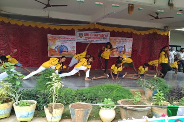 Sri Chaitanya High School-Yoga
