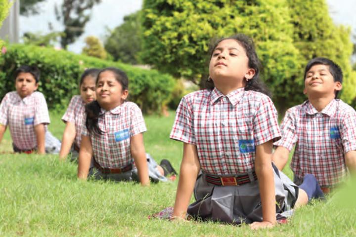 Sri Chaitanya School- Yoga