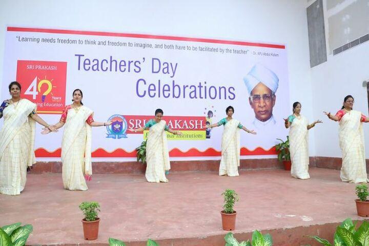 Sri Prakash Synergy School-Teachers Day
