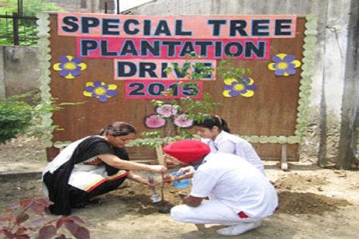 Guru Angad Public School-Plantation