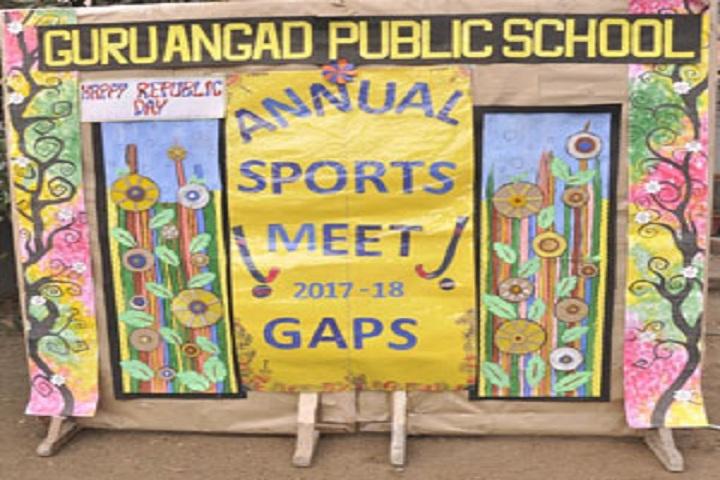 Guru Angad Public School-Sports day