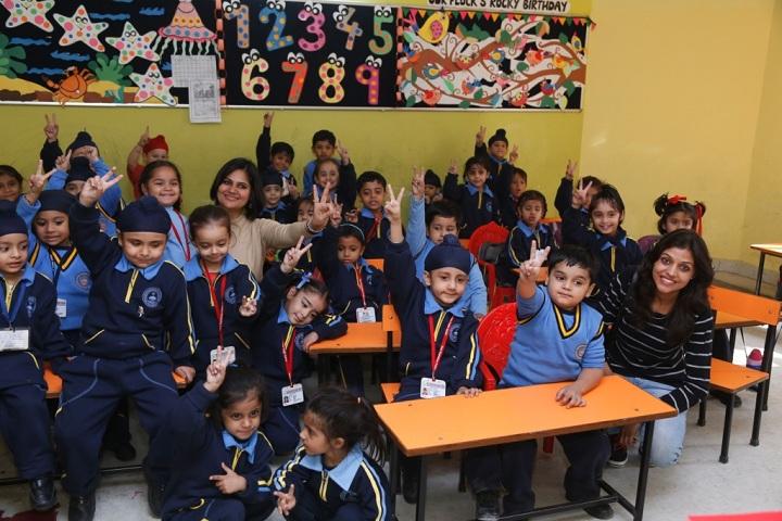 Guru Harkrishan Public School-Classroom