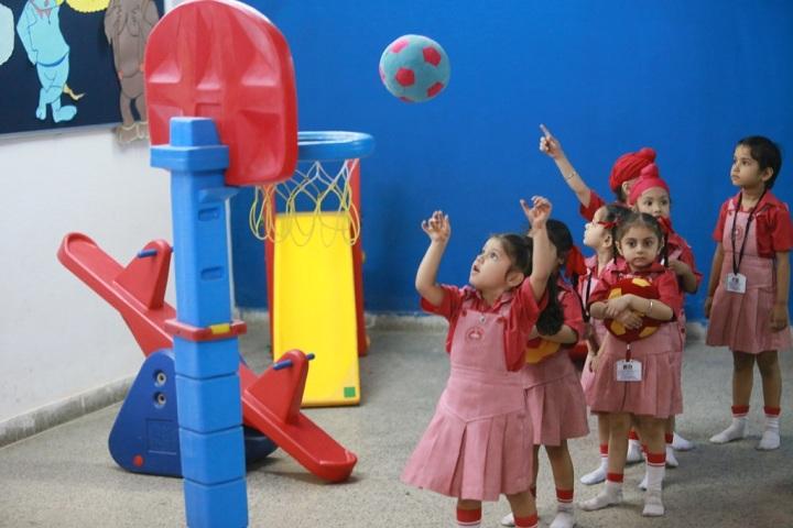 Guru Harkrishan Public School-Play Area