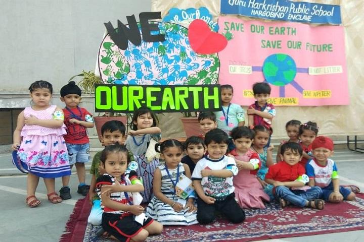 Guru Harkrishan Public School-Earth day
